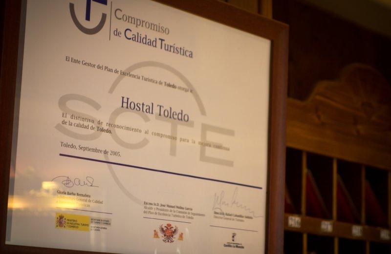 Hostal Toledo - Calidad turistica