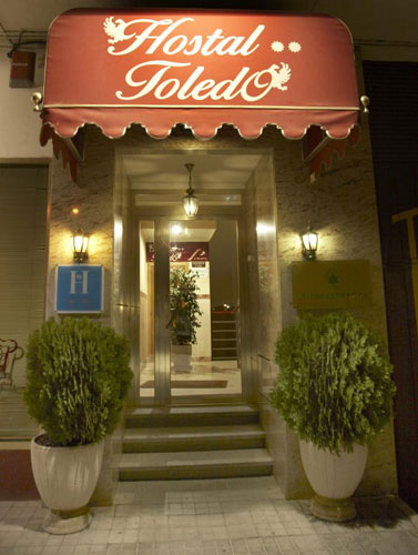 Hostal Toledo - Fachada